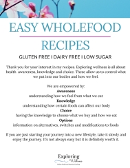 Free whole food recipe eBook
